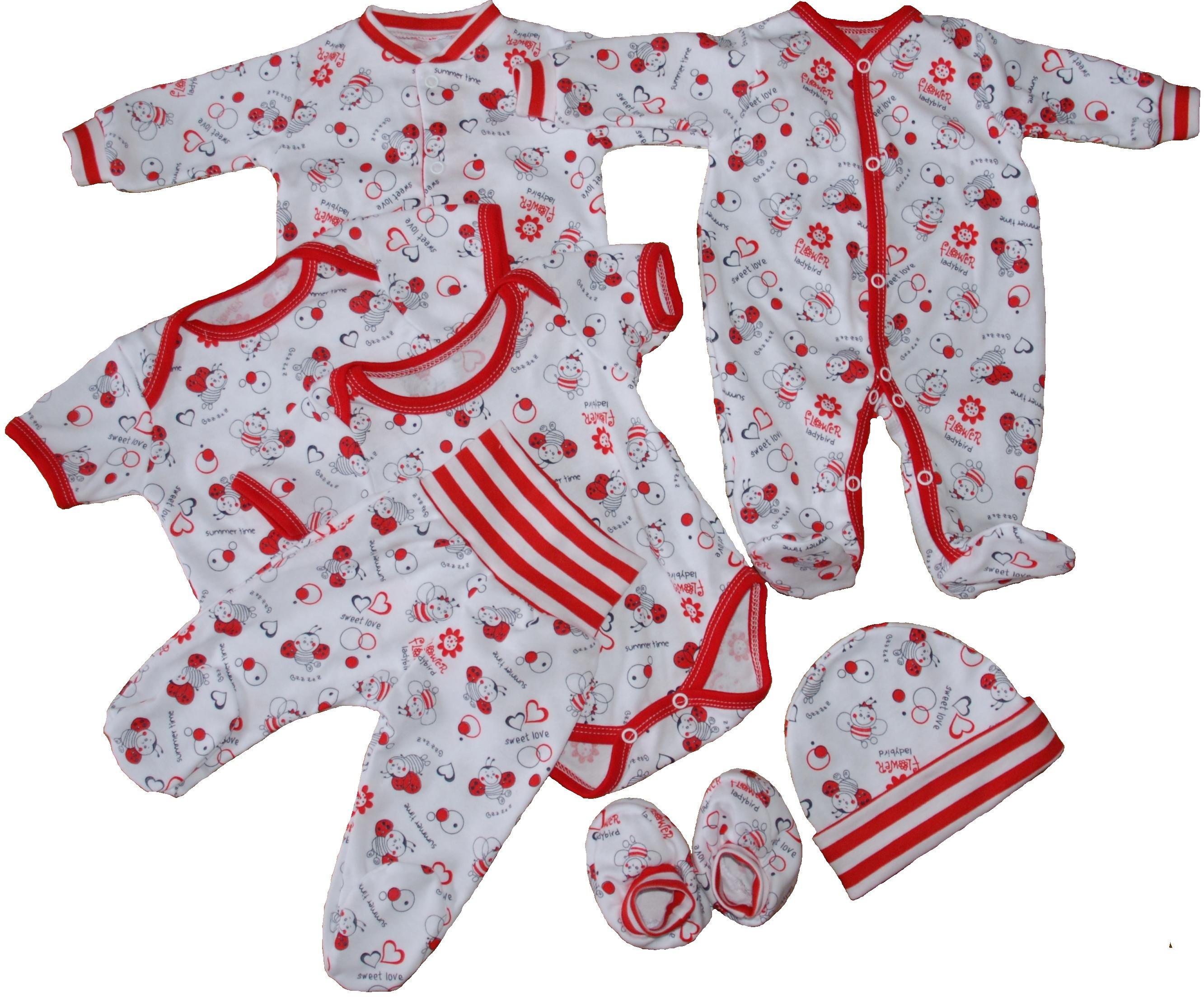 kojenecké oblečení s beruškou 70e8570b65