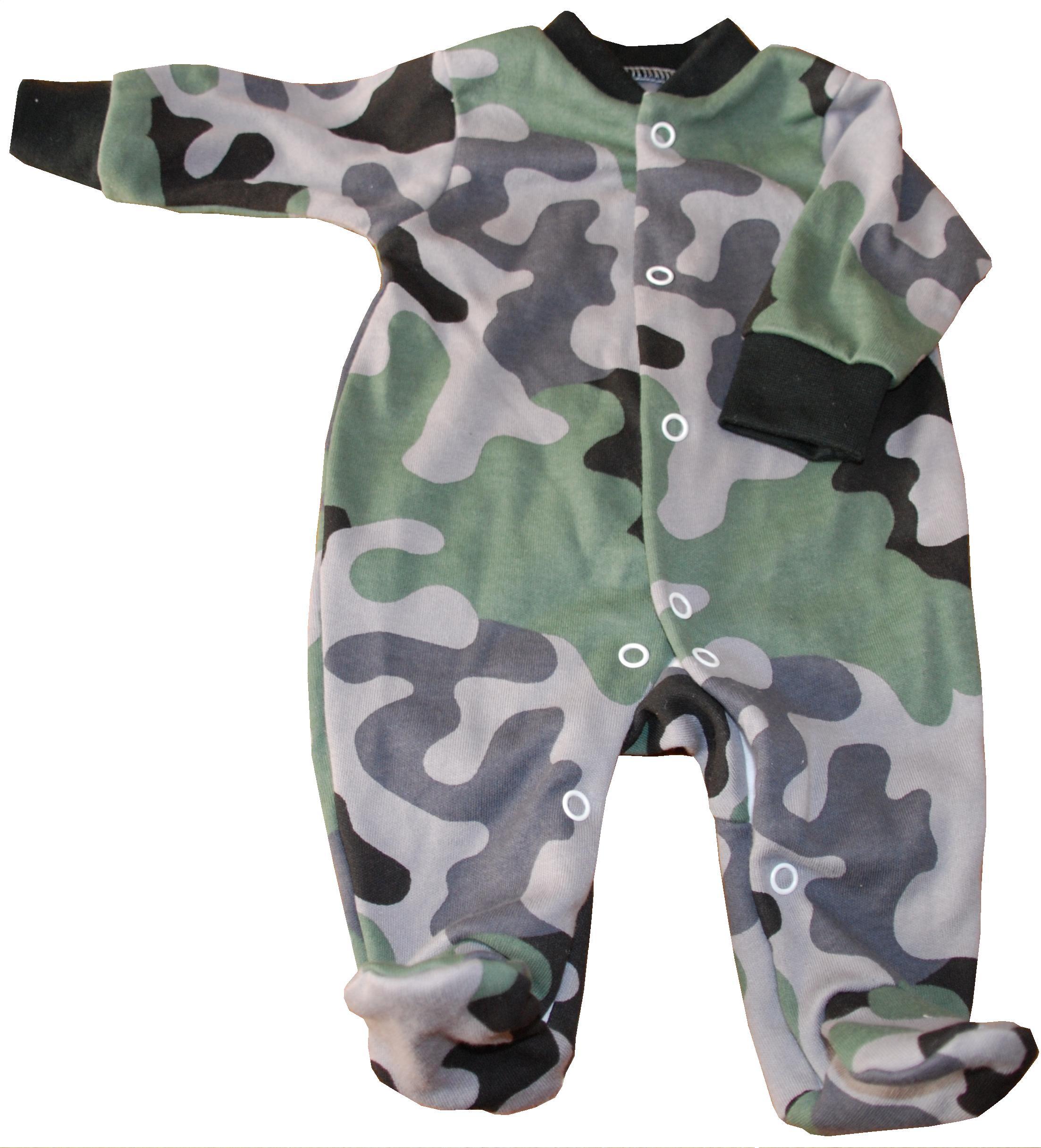 fb819ead9445 kojenecké army oblečení