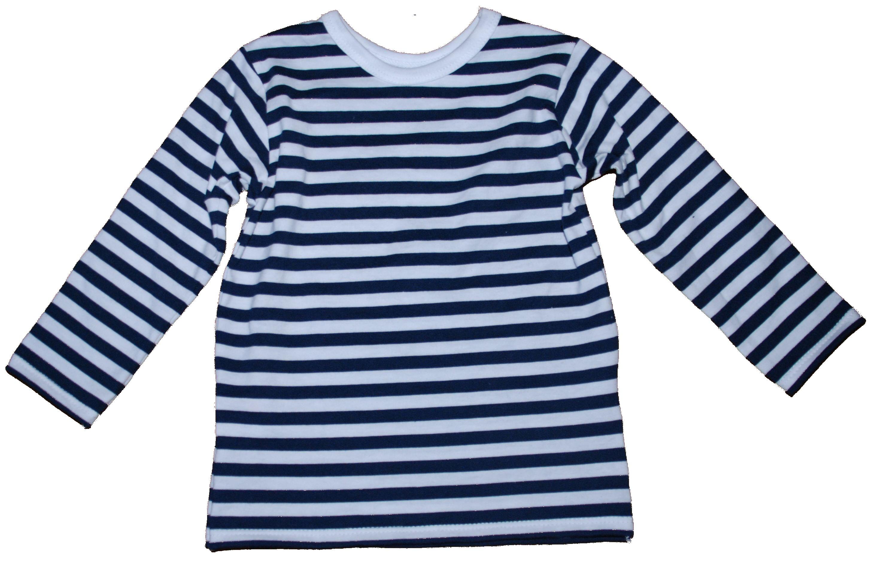 c8452762805 Dětské námořnické tričko dlouhý rukáv