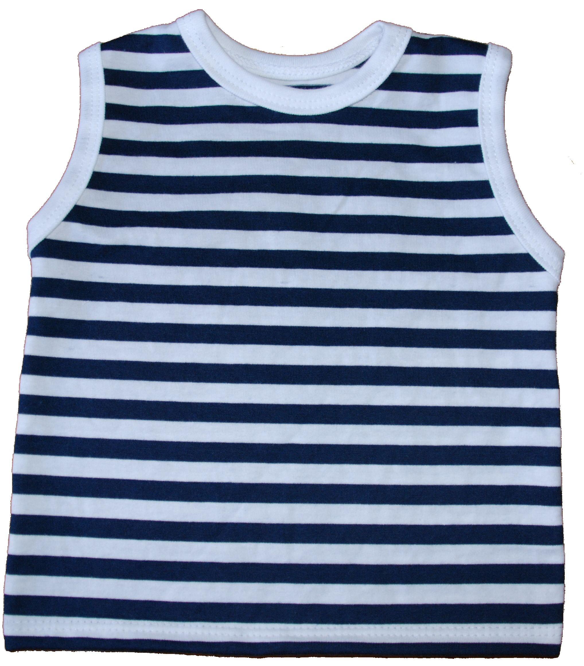 229c14ff1e1 Dětské námořnické tričko bez rukávů od vel. 110